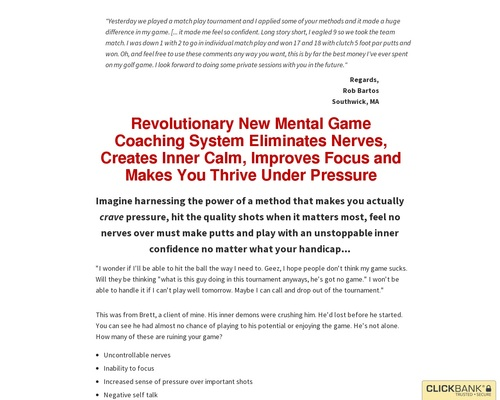 The Consistency Code Mental Game Coaching System